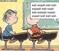 charlie brown teacher